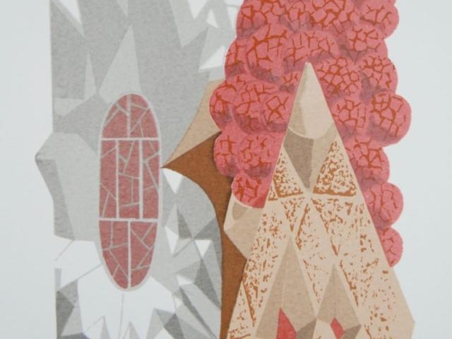 """Sagrada Familia"" Silkscreen, KcBaca Print"