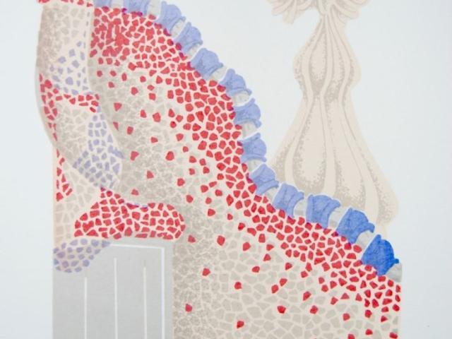 """""""Casa Batlo"""" Silkscreen Print"""
